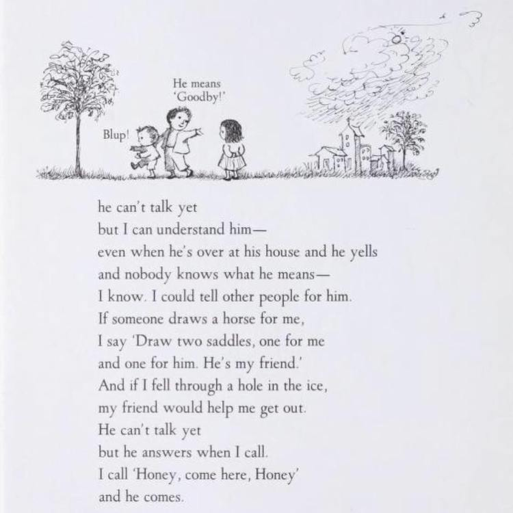 from I'll Be You and You Be Me by Ruth Krauss (1954) with illustrations by Maurice Sendak