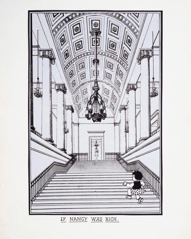 If Nancy Was Rich by Joe Brainard (1972)