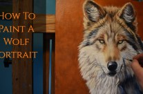 How to Paint a Wolf in Oils with Loose Brushwork