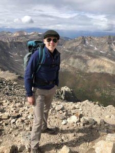 Cody atop Mt. Democrat