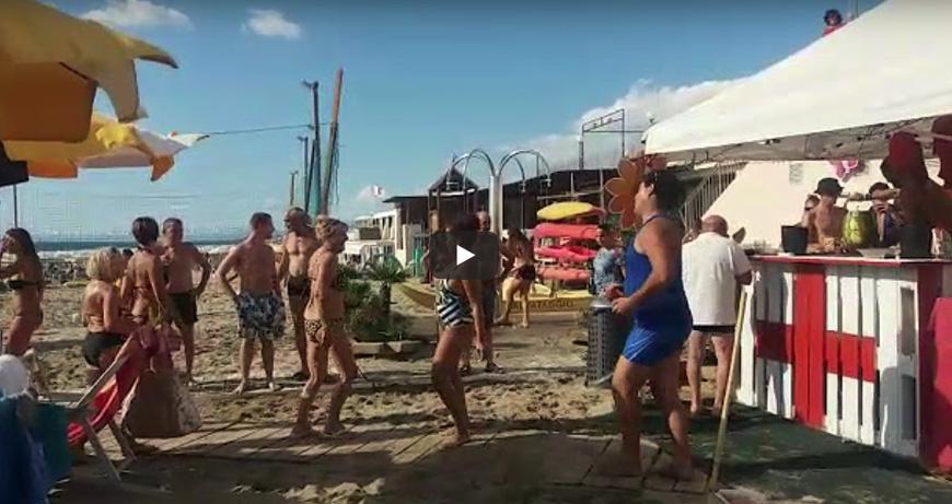 Festa in spiaggia