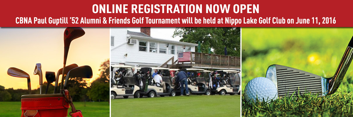 Golf Registration Banner