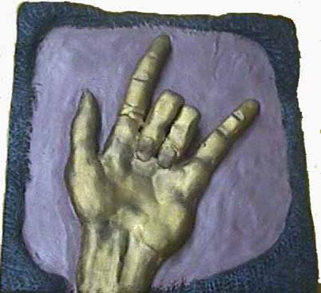 Symbolism by Caitlin Gellat - Ceramic Tile