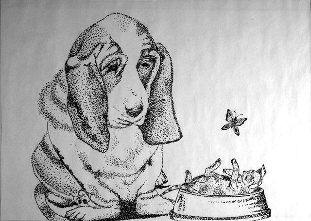 Untitled by Ginger Sanford - Pen & Ink on Paper