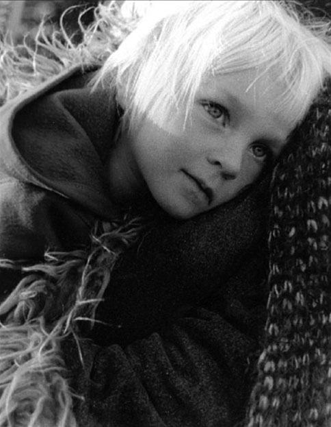Safe and Warm by Ruth Hayden - B & W Photograph