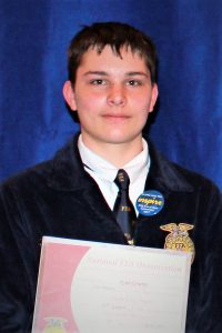 CBNA senior Ryan L. Graeme the 2017 recipient of the DEKALB Agricultural Accomplishment Award