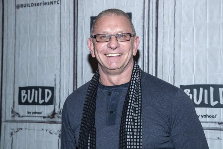 Robert Irvine inside for Yahoo Build Series Celebrity Candids - MON, Yahoo Build Studios, New York, NY January 13, 2020