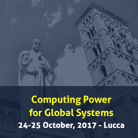 Computing Power for Global Systems | October 24-25, 2017