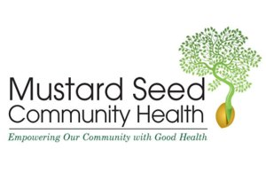 Logo for Mustard Seed Community Health - Motto: Empowering Our Community with Good Health