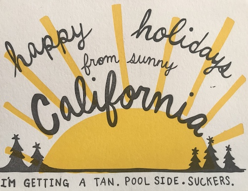 Christmas in California