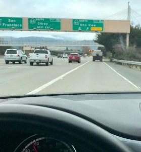 Back in California