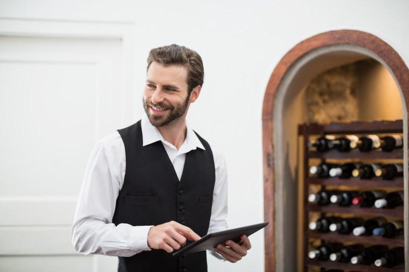 carte vins tablette iPad
