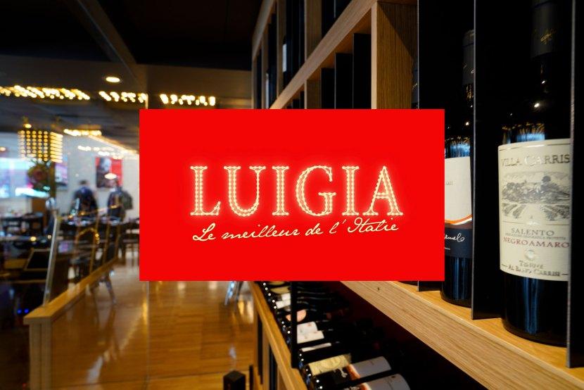 Restaurants LUIGIA carte vin numérique