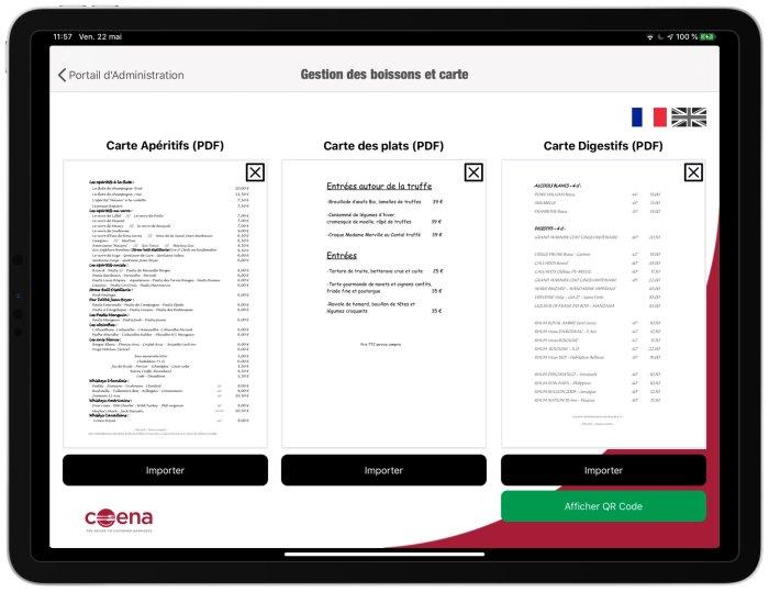 Carte Restaurant QR-Code