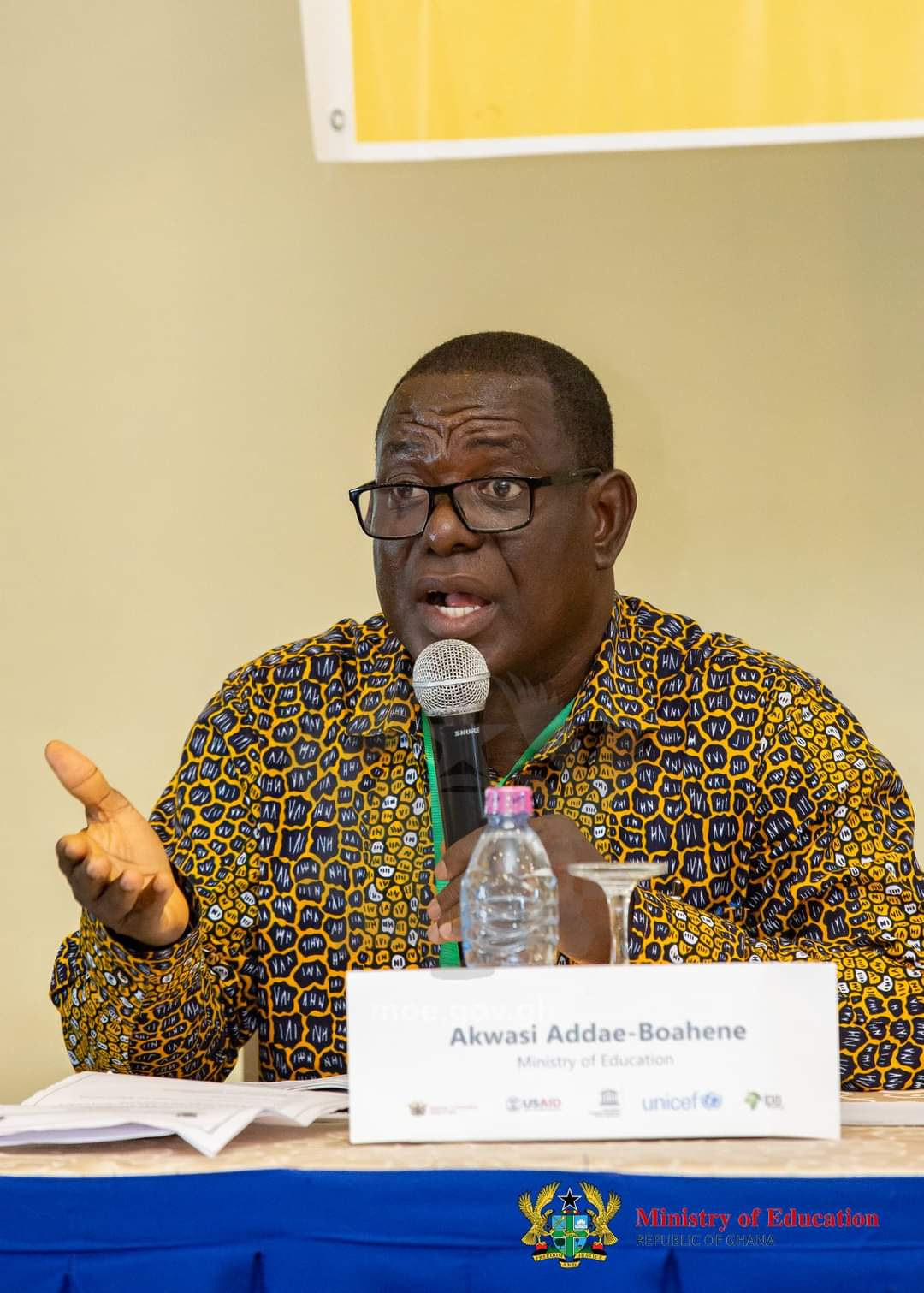 PERSONALITY PROFILE. CoEWJ Interview with Mr. Akwasi Addae-Boahene, Chief Technical Advisor, T-TEL and Policy Advisor, Education Reform Secretariat, Ministry of Education.