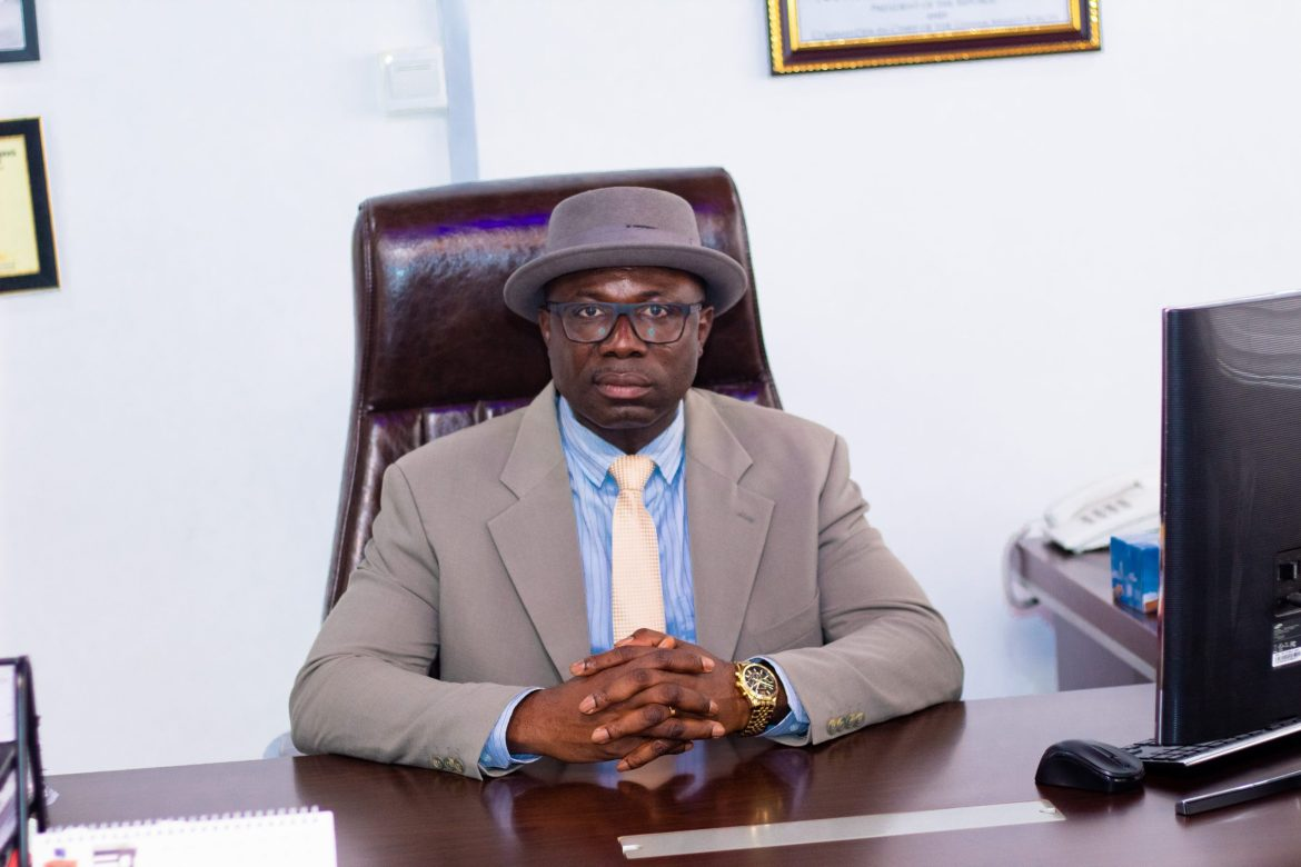 PERSONALITY PROFILE. CoEWJ Interview with Dr. Christian Addai-Poku, Acting Executive Secretary, National Teaching Council. Old Student, Atebubu College of Education