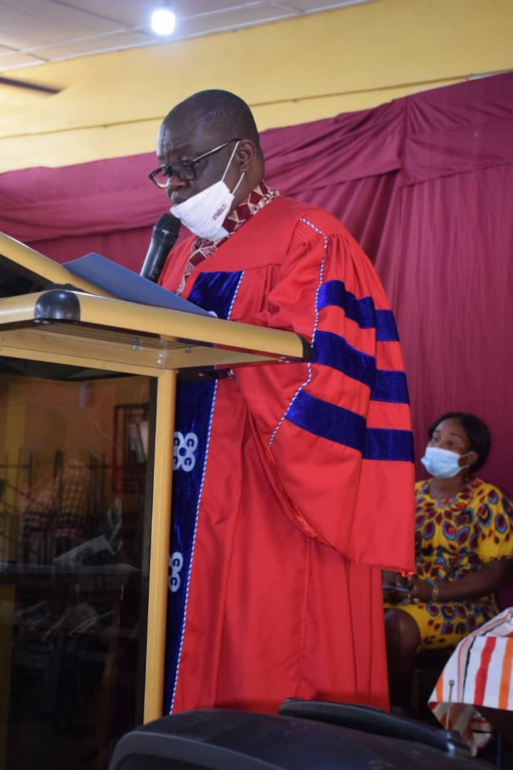 Komenda College Of Education Holds Matriculation Ceremony For UCC Sandwich Students 2021 (Cohort 1)