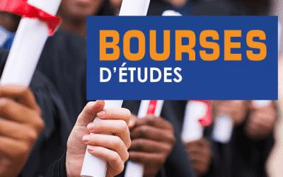 Les offres bourses d'études disponible du 30 Octobre 2020