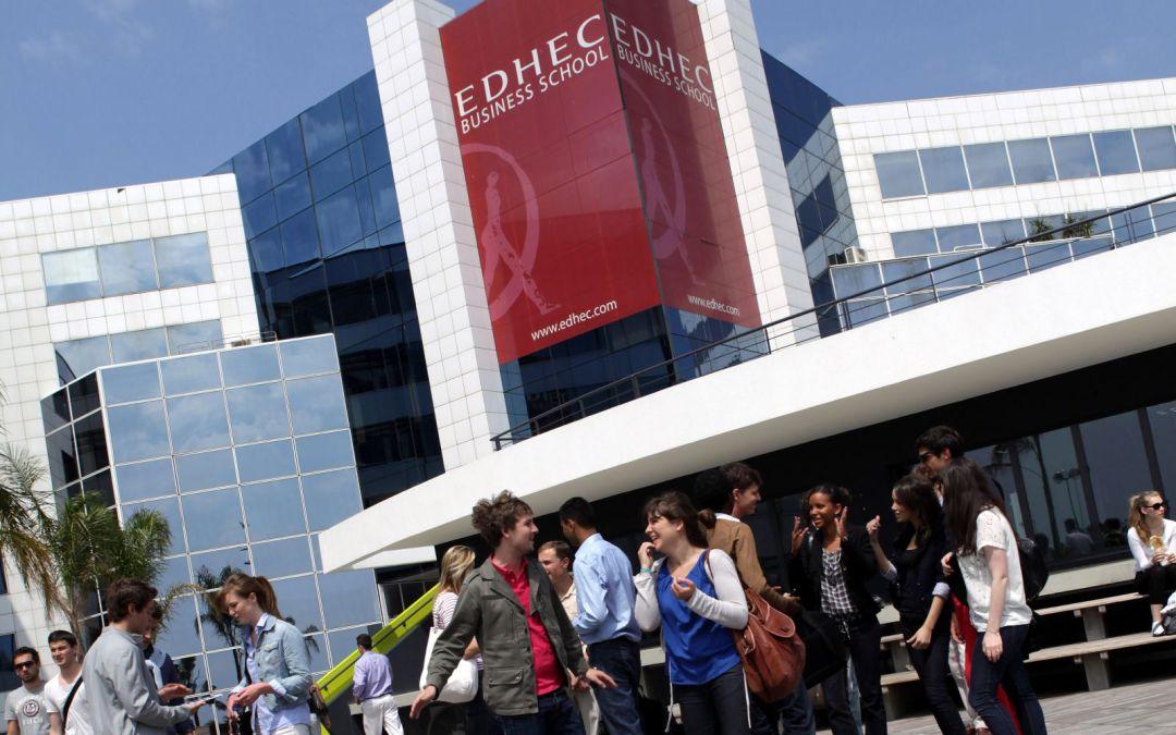 Bourse de L'Ecole des Hautes Etudes Commerciales (EDHEC) en France