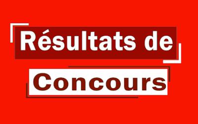 Résultats admis définifs concours BTS industrie  ( CFPT/S-J et CEDT le G15 ) session 2020
