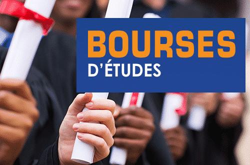 Les offres bourses d'études disponible du 20 Février 2021