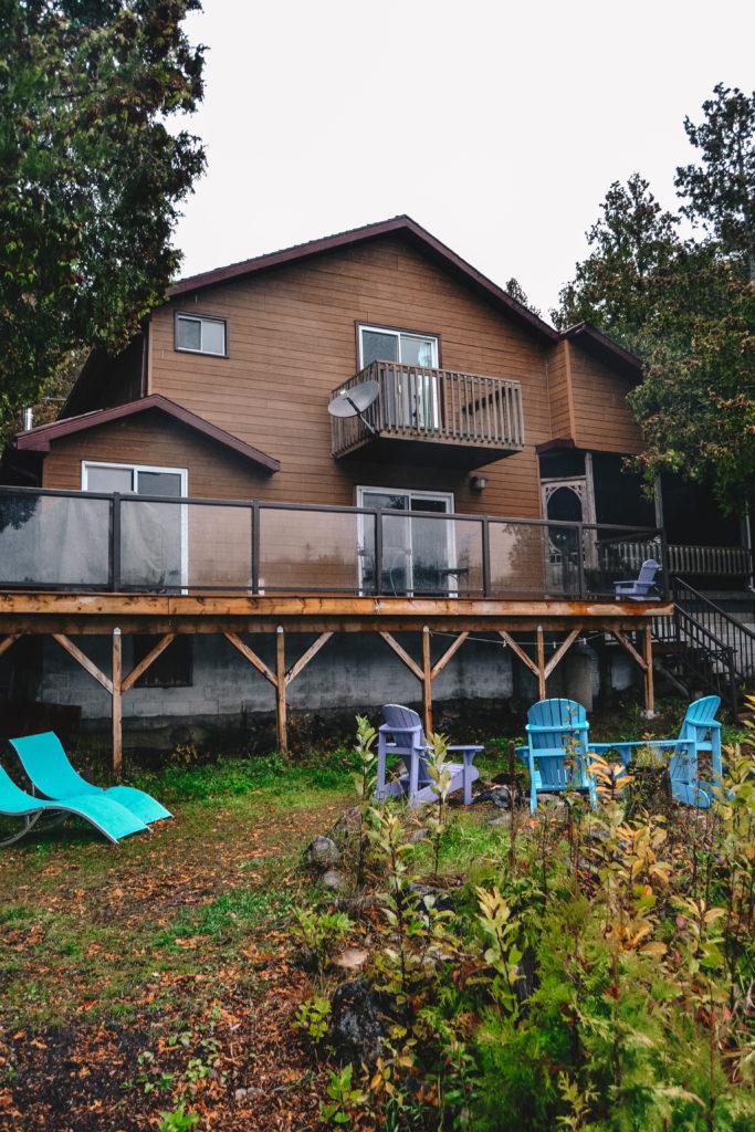 Le Airbnb à Tobermory juste en face du lac Huron et à côté de la Péninsule Bruce