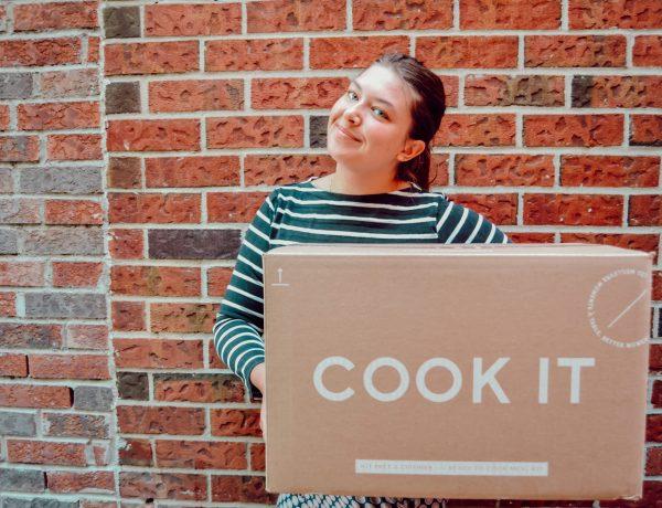 Livraison hebdomadaire de box à cuisiner Chef Cook it