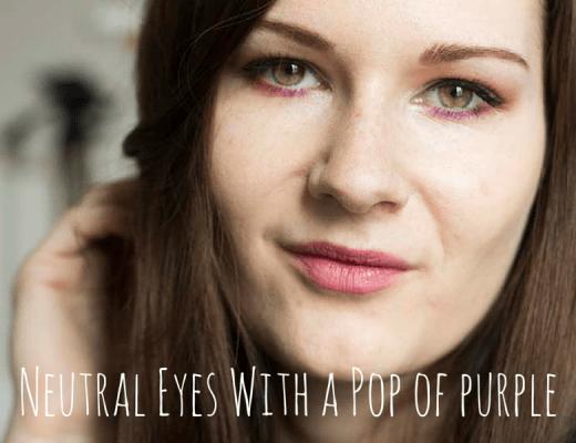 Neutral Eyes Pop Of Purle - Wannabelike - coeurdelisa