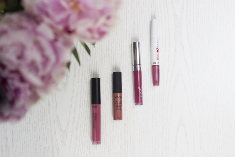 Liquid Lipsticks NYX Trend it up Colour Pop - coeurdelisa