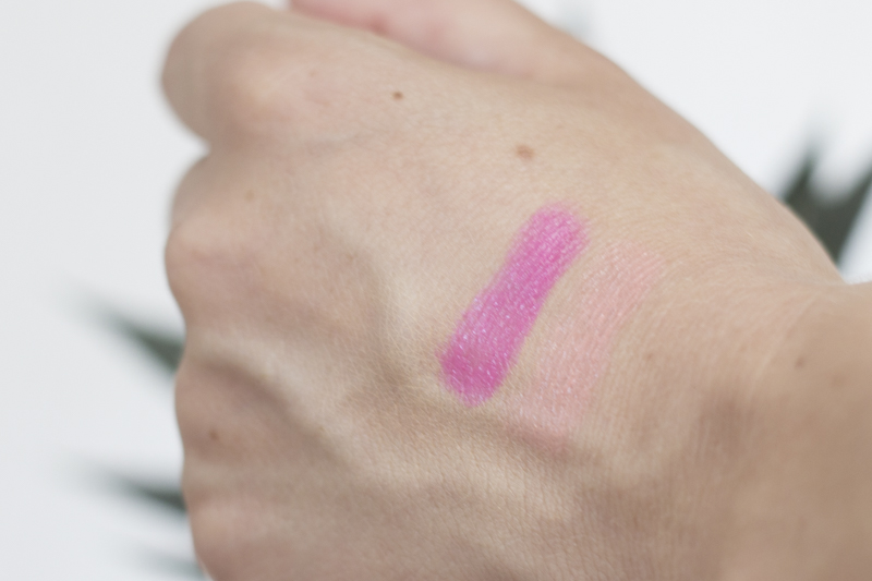 Essence exit to explore - refreshing lipsticks swatches - coeurdelisa