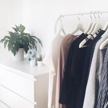 Kleiderschrank Update Monatsrückblick