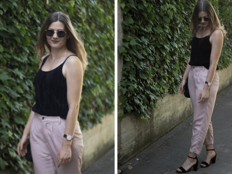 Sommer in schwarz und rosa