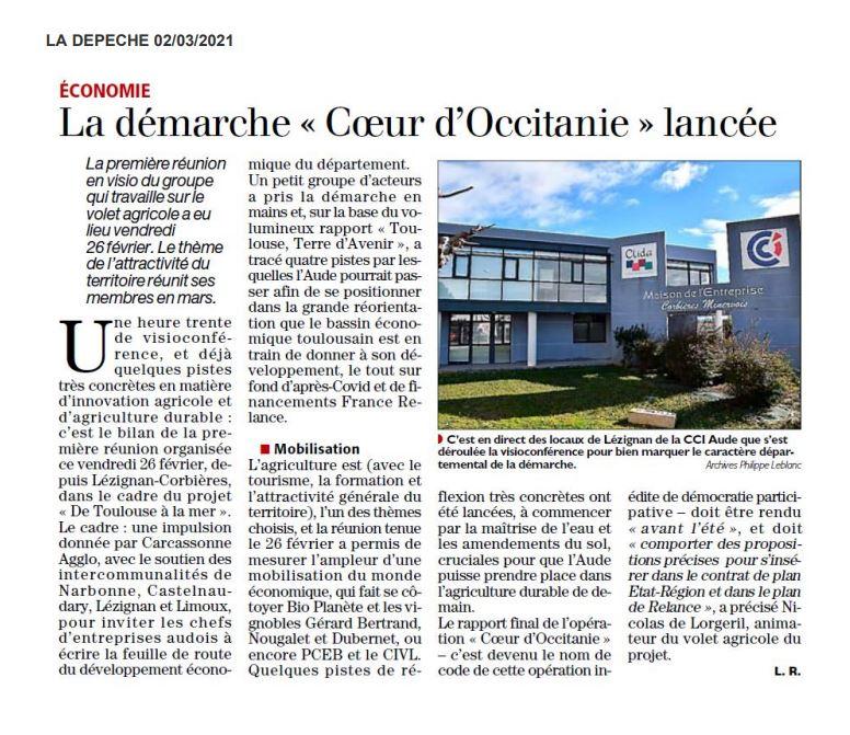 La démarche «Cœur d'Occitanie» lancée