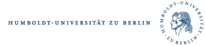 Logo for Humboldt University, Berlin