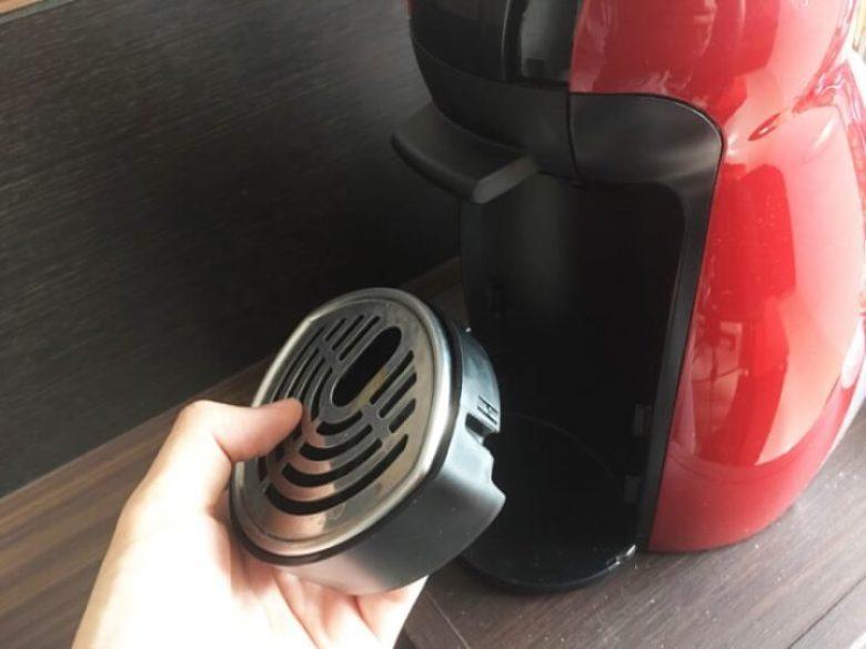 コーヒーカップを置く台座