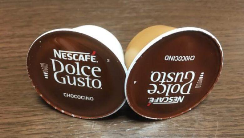 チョコチーノのカプセル