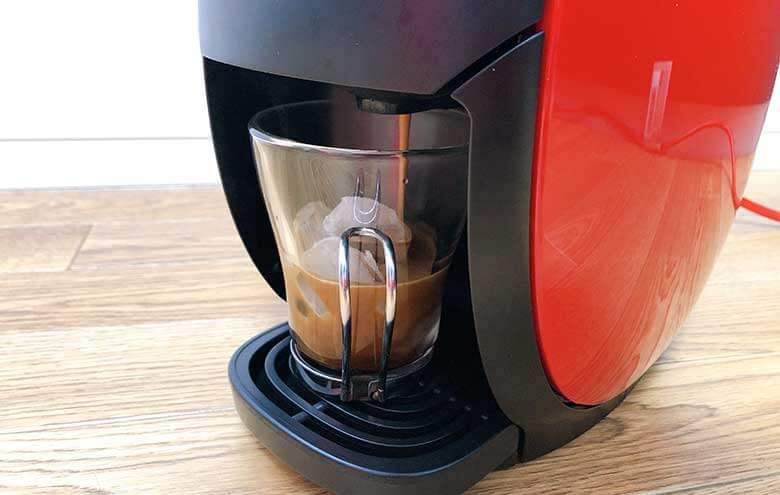 アイスコーヒーの抽出開始