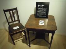 榎本武揚の机