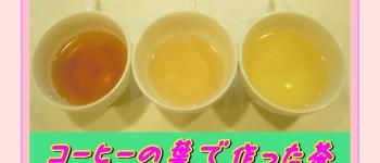 コーヒー茶