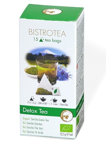 Detoksikuojanti arbata Sencha (15 maišelių)