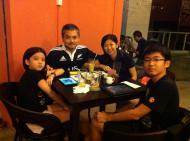Nice folks with big appetites. Glad to serve u!