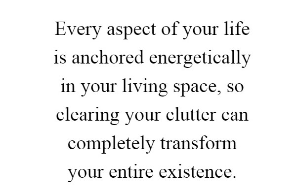 unclutter your space