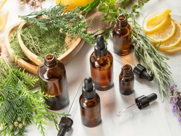 removing food odors with essential oils