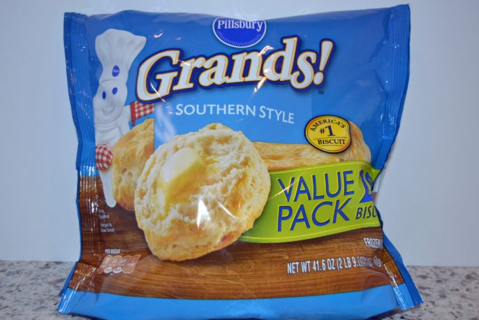 bag of Grands frozen biscuits
