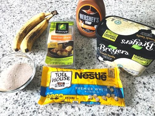 Banana Wonton Ingredients
