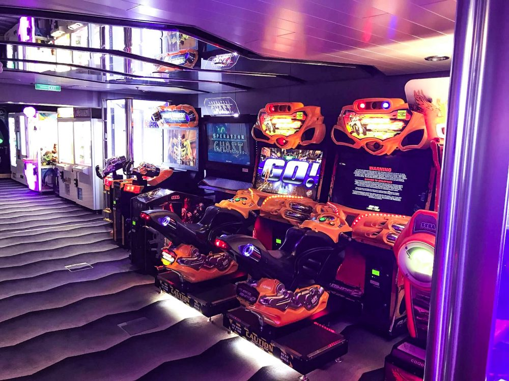 Anthem of the Seas Arcade