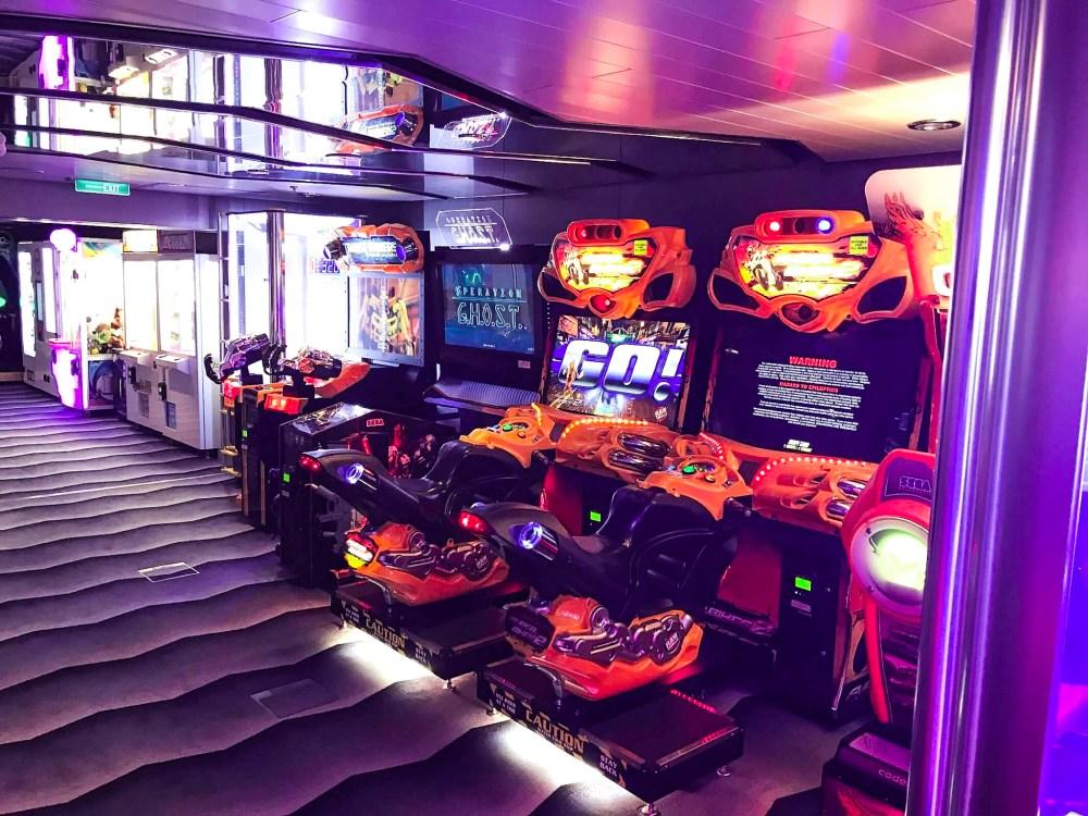 Anthem of the Seas Arcade