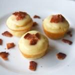 Maple Pancake Bites with Bacon