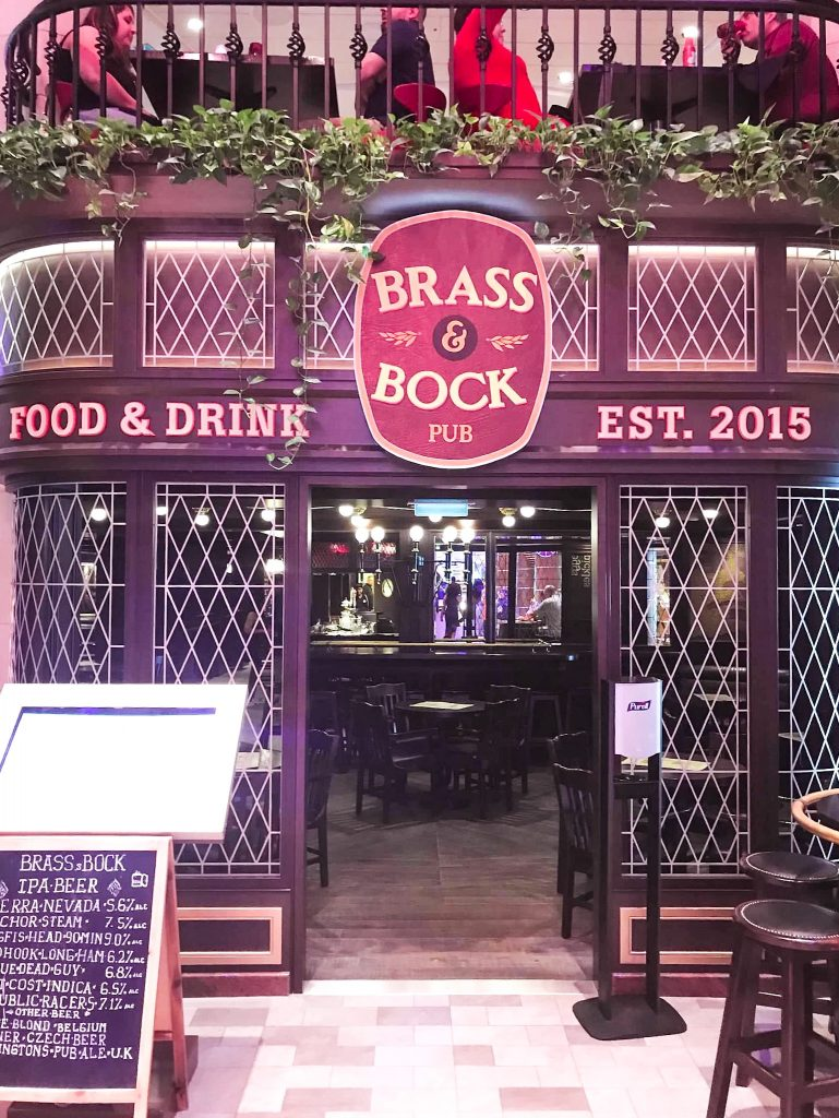 brass and bock on anthem of the seas