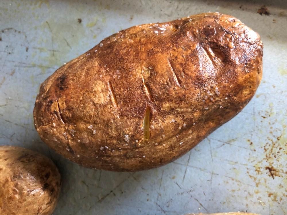 oven baked potato